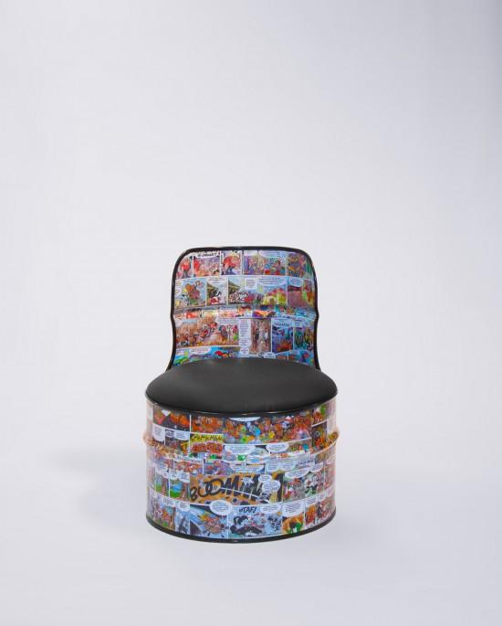 Barril Cómic Mini, como los barriles Torno pero en formato pequeño, para los chicos de la casa
